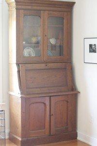 Samuel Eldred's farm desk