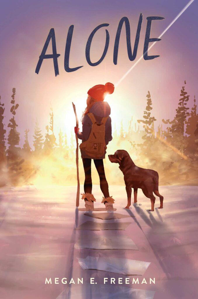 Alone by Megan E Freeman book cover